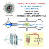 Electric Field and Capacitance Problem Solving Video Exam