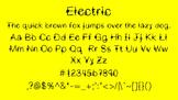Electric Font