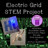 Electric Grid STEM Project Integrates Coordinate Grids & Paper Electric Circuits