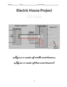 Electric House Project (Project Based Learning)