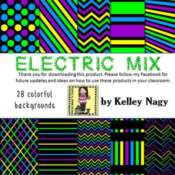 Electric Mix Digital Papers