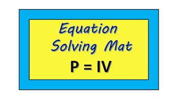 Electric Power Formula (P=IV)