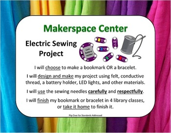 Electric Sewing Makerspace Project: An E-Textiles Center for Beginners