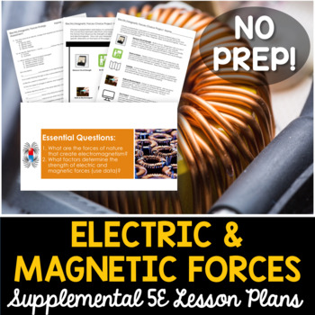 Electric and Magnetic Forces - Supplemental Lesson - No Lab