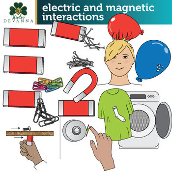 Electric and Magnetic Interactions Between Two Objects