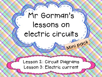 Electric circuit diagrams and Electric current
