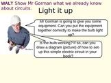 Electric circuit prior knowledge