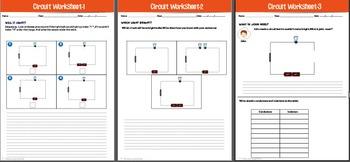 Electric circuit worksheets