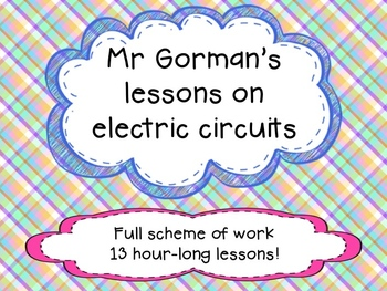 Electric circuits full scheme of work