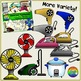Electrical Appliances Clipart (Electronics, Gadgets, Home)