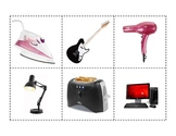Electrical Appliances - Matching Activity