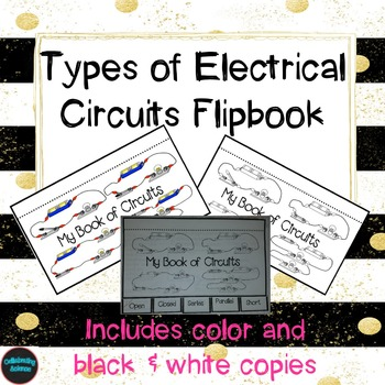 Electrical Circuit Flip Book for Interactive Notebook