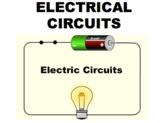 Electrical Circuits (Editable)