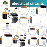 Electrical Circuits Clip Art