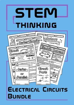 Electrical Circuits, Conductors and Insulators Middle School Physics Bundle