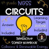 Electrical Circuits NGSS Science Interactive Notebook & Journal