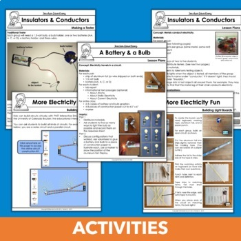 Electrical Circuits Unit with Hands-on Current Electricity Activities