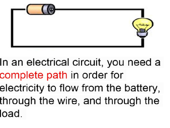 Electrical Circuits with the Human Circuit in PP