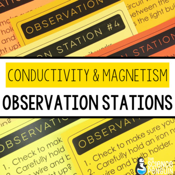 Electrical Conductivity and Magnetism Observation Stations