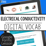 Electrical Conductors and Insulators Digital Vocabulary |