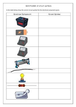 Electrical Diagram Worksheets