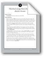 Electrical Energy Flows Through Electric Circuits