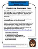 Electrical Energy Scavenger Hunt - Physics