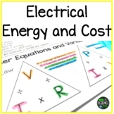 Electrical Energy and Cost