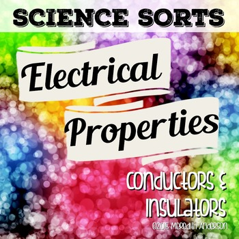Electrical Properties Science Sorting