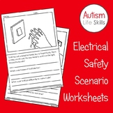 Electrical Safety Scenario Worksheets SPED Autism Life Skills