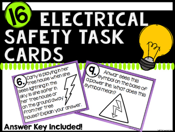 Electrical Safety Task Cards