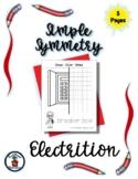 Electrician - Community Helper - Simple Symmetry - Draw Co