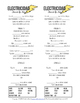 Electricidad by Jesse & Joy Spanish song activities and reading