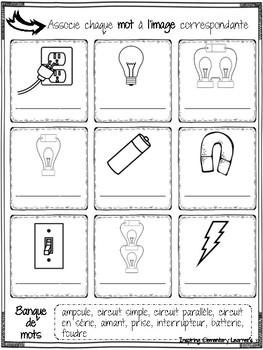 Électricité 5-6e année / Electricity