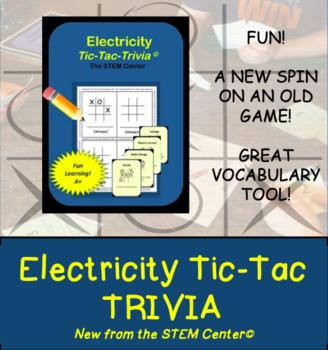 Electricity Trivia Board Game