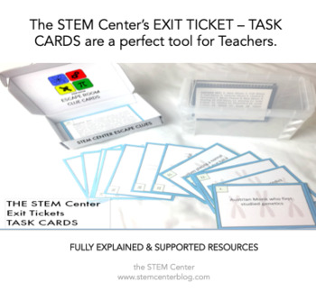 Electricity Exit Tickets Task Cards