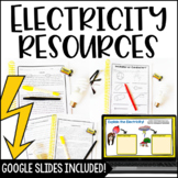 Electricity Resources with Google Slides and Google Forms™ Distance Learning