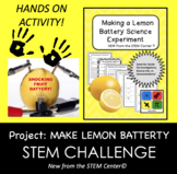 Electricity STEM Laboratory Experiment: MAKE A BATTERY - L
