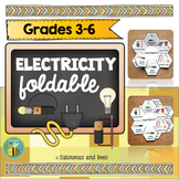 Electricity and Magnetism Interactive Science Notebook foldable
