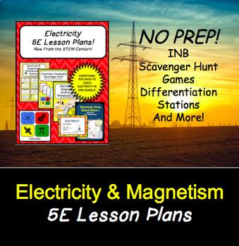 Electricity 5 E lesson Plans