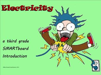 Electricity - A Third Grade SMARTboard Introduction