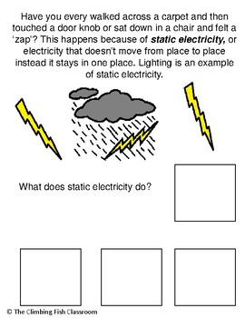 Electricity Adapted Book