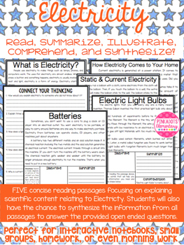 Electricity Articles:Static, Current Electricity, Batteries, Light Bulbs, & more