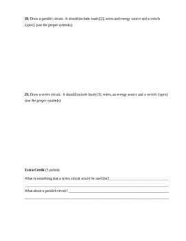Electricity Assessment (Test)