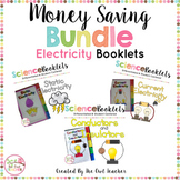 Static Electricity, Current Electricity, and Insulators Tabbed Booklets (BUNDLE)