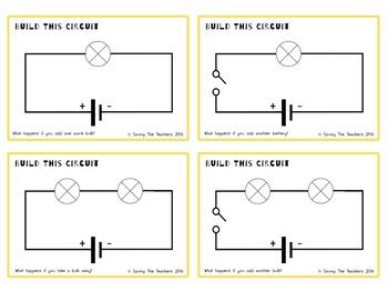 Electricity Circuit Building Activity
