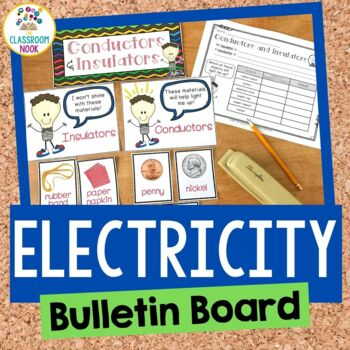 Electricity Mini Unit (Bulletin Board and Student Activities)