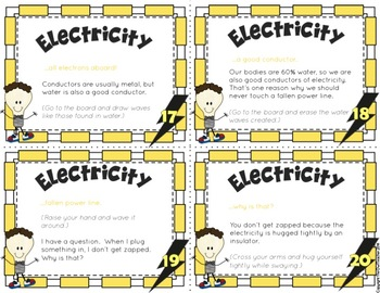 Types of Electricity Causation Cards