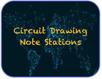 Electricity Circuit Drawing Note Stations