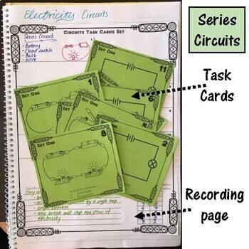 Electricity. Circuits. Task Cards